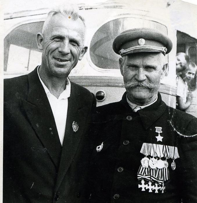 Константин Недорубов в послевоенное время.