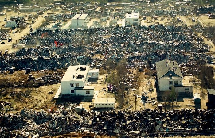 Землетрясение в Нефтегорске./ Фото: gk170.ru