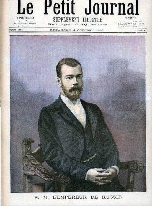 Рисунки из французских газет.