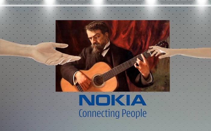История знаковой мелодии Nokia tune.