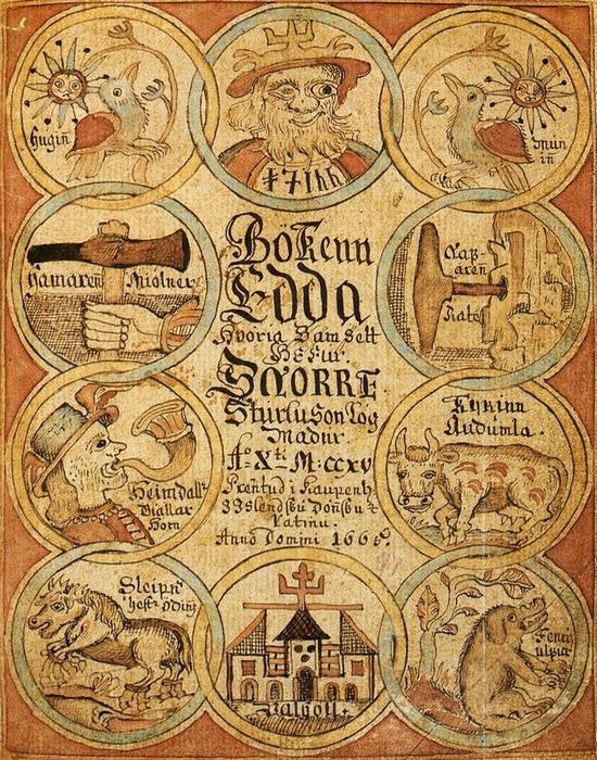 Скандинавская мифология родом из Исландии./фото: dostoevskiy.cbscao.ru
