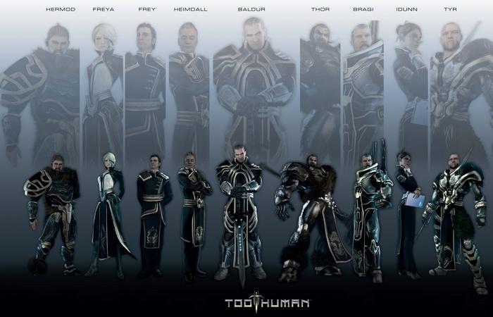 Компьютерная игра Too Human./фото: compforgames.ru
