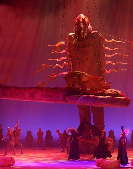 Кольцо Нибелунгов в Астане./фото: look.tm