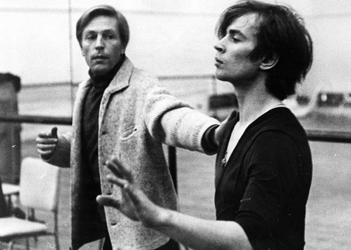 Рудольф и Эрик на репетиции. / Фото: diary.ru