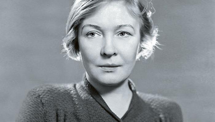 Ольга Берггольц - голос блокадного Ленинграда.