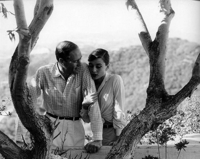 Одри Хепберн и Мел Феррер: всегда вместе.