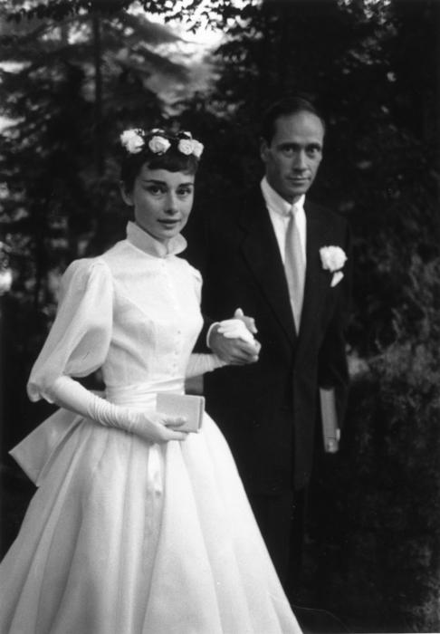 Свадьба Одри и Мела.