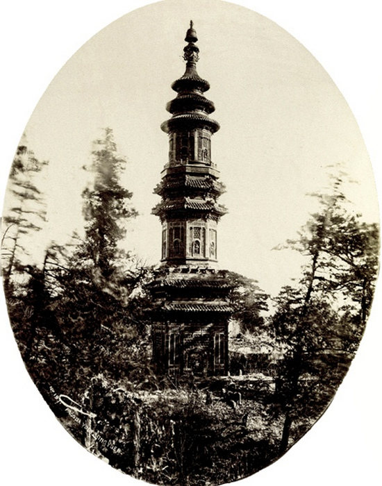 Пагода монастыря Цзунцзин.