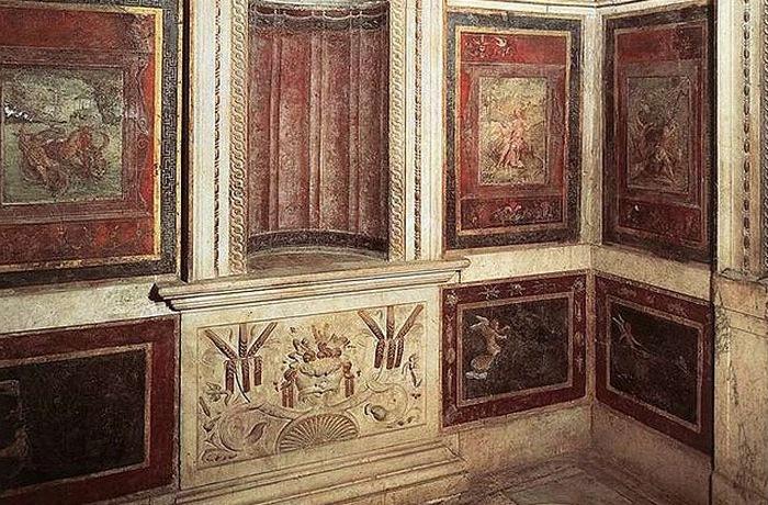 Ванная комната в апартаментах Папы в Ватикане.