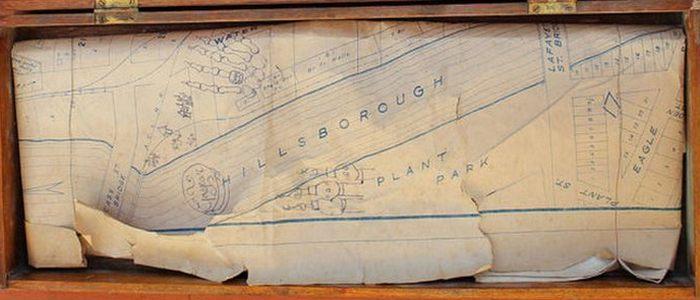 Карта из ящика.