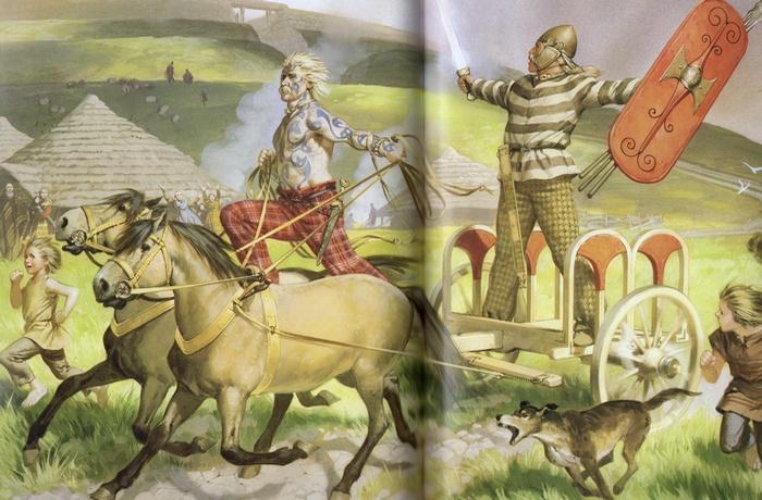 Кельты населяли Ирландию, Шотландию, Испанию, Италию, Чехию, Венгрию, Германию и Польшу.