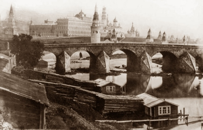Москва на фотографиях XIX века.