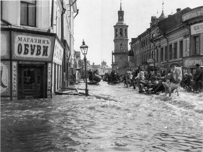 Уличный потоп.