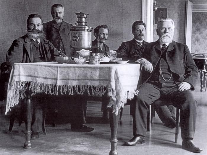 Московские купцы. Фото 1900-х гг.