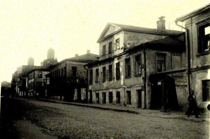 Грачёвка - московский квартал красных фонарей.