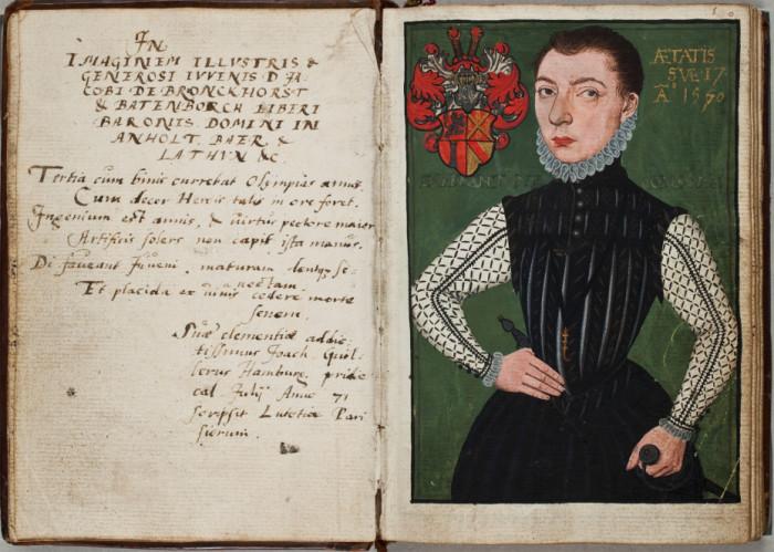 «Аlba amicorum» - социальные сети 400-летней давности