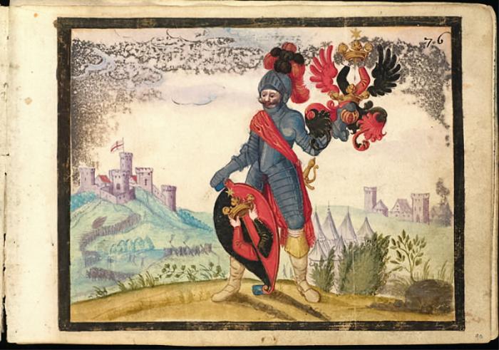 Рисунки из альбома Майкла ван дер Меера (1590-1653).
