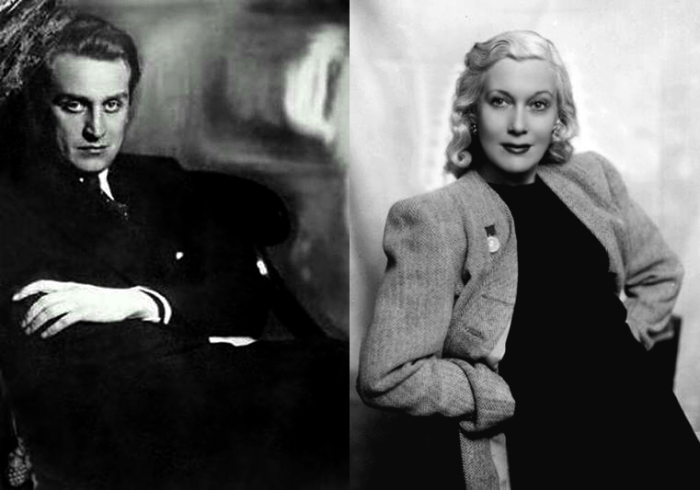 Григорий Александров и Любовь Орлова.