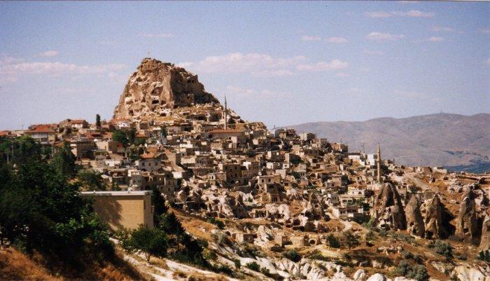 Подземный город Деринкую в провинции Каппадокия