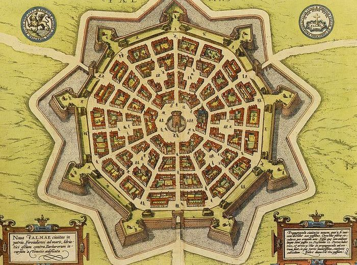 Карта крепости в 17-м веке. / Фото: thevintagenews.com