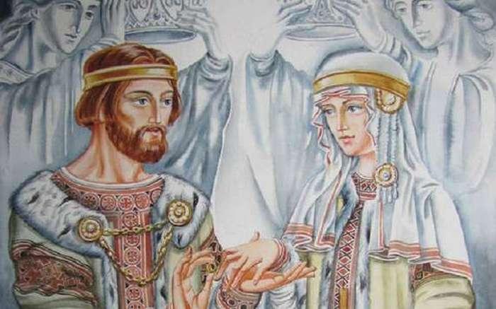 Благоверные и преподобные супруги Петр и Феврония.