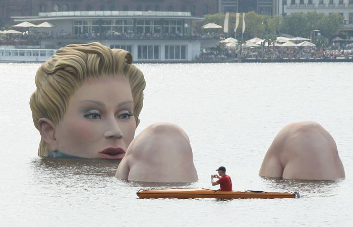 Die Badende.    Фото pinterest.com