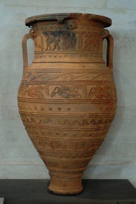 Пифос из Крита, 675 г. до н.э. Лувр