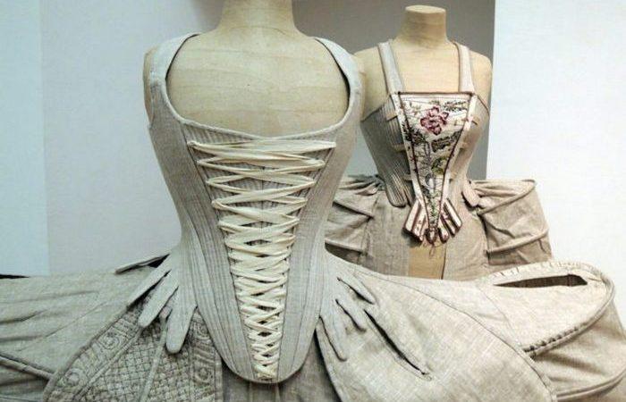 Платье 18 века.