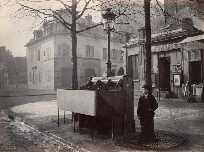 Парижские писсуары.