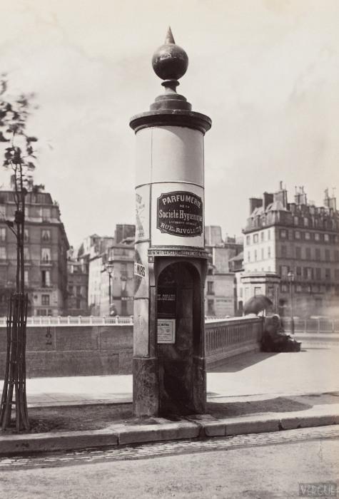 Общественные туалеты как часть парижской архитектуры.