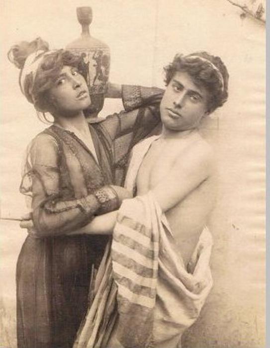 Мужская проституция.