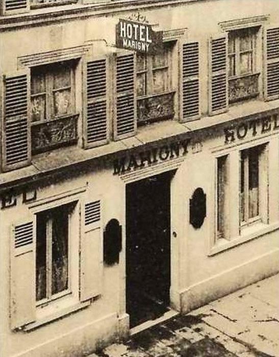 Отель Мариньи.