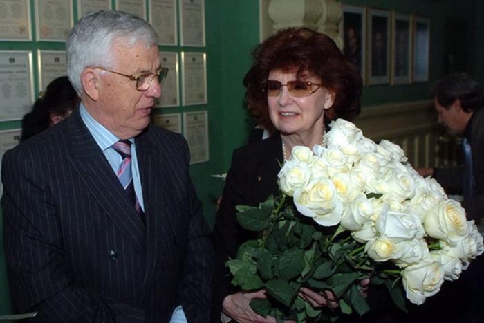 Раймонд Паулс и Светлана Епифанова.
