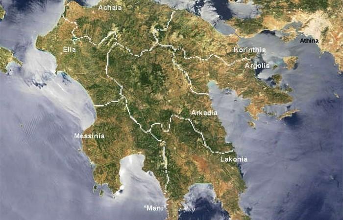 Пелопоннес,Спарта, Коринф, Аргос... фото:list25.com