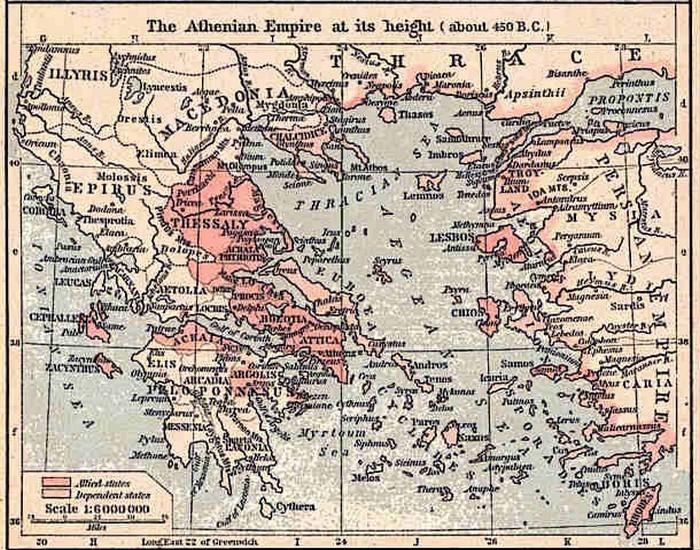 Греческие города-государства. фото:list25.com