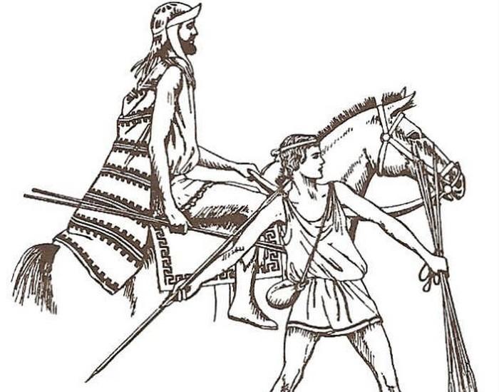 Афинский воин. фото:list25.com