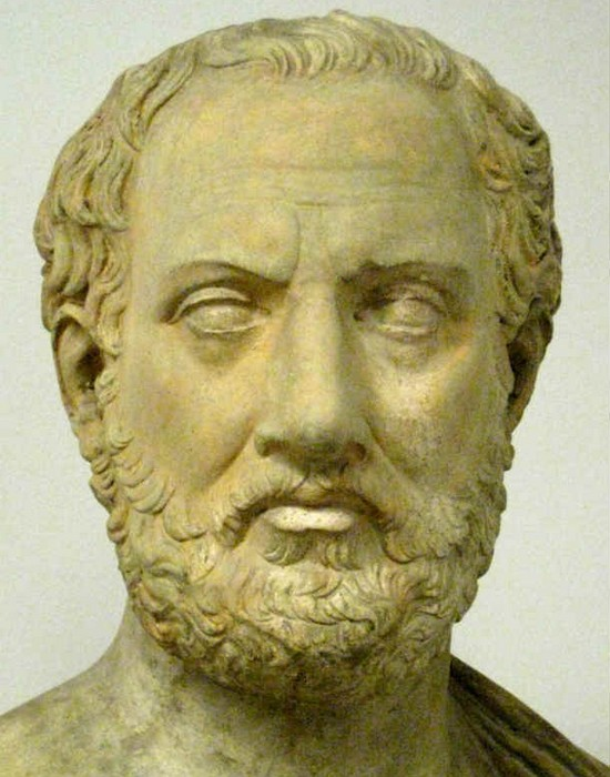 Афинский историк Фукидид. фото:list25.com