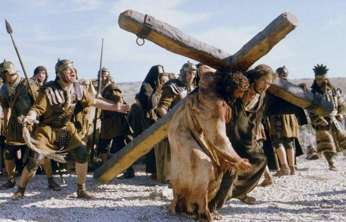 Кадр из фильма «Страсти Христовы».