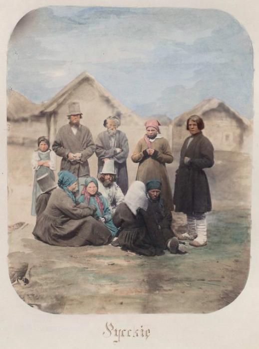 Крестьянская семья из Пензенской губернии.