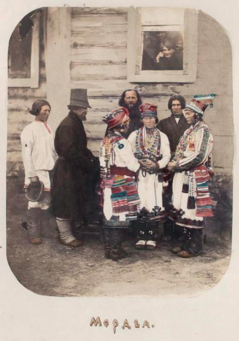 Мордва из села Рыбкино.
