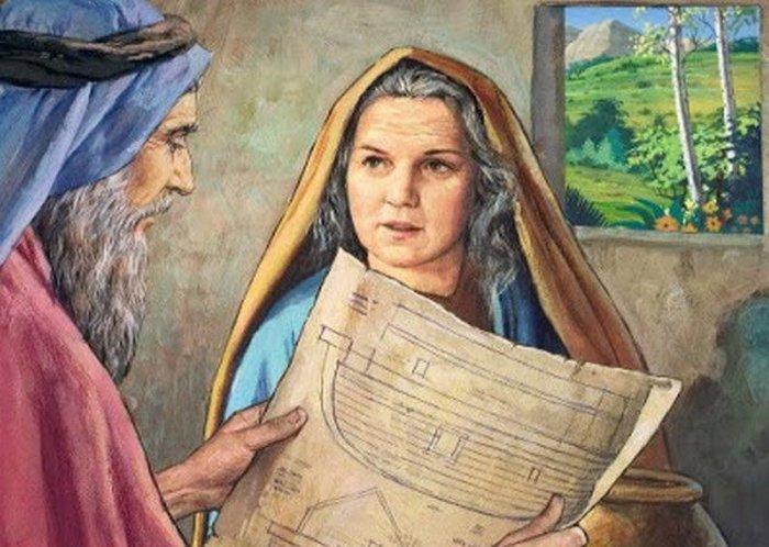 Жена Ноя: возможно, Наама.