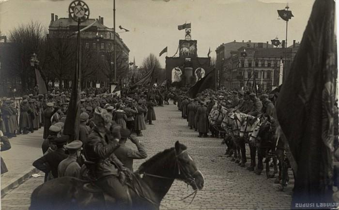 Первомай. 1919 год. Рига.