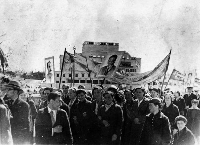 1 мая. Середина 1930-х. Иваново.