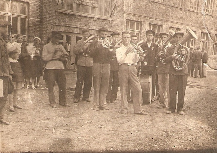 Первомай в Майкопе. 1936 год.