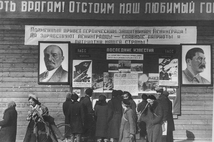 1 мая 1943 года. Ленинград.