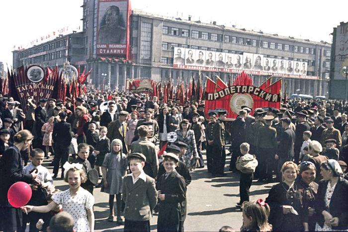 1 мая. Москва. 1952 год.