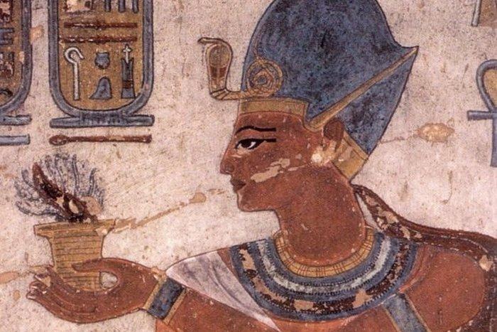 Первая победа Египта над филистимлянами.