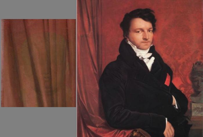 *Портрет Жака Марке, барона де Монбретон де Норвен* Жан Огюст Энгр.