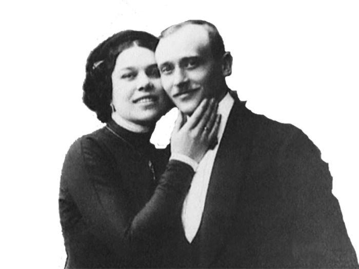Надежда Плевицкая и Николай Скоблин.