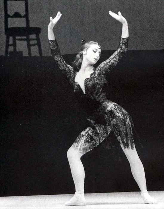 Майя Плисецкая на сцене. / Фото: kp.by